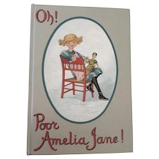 Florence Upton Book Peg Doll Interest Oh! Poor Amelia Jane by Kathleen Ainslie