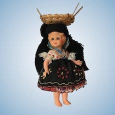 Vintage Portuguese Portugal Tourist Character Souvenir Doll