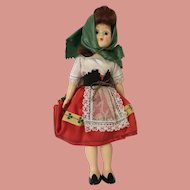 Rare Vintage Celluloid Irish Character Doll made in Cork Ireland