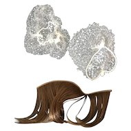 Madame Alexander Accessories Hair Piece and Hair Nets