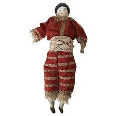 Dolls House China Head Doll