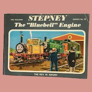Vintage Thomas the Tank Engine The Bluebell Engine Book 1973 Edition Series No 18 Rev W Awdry