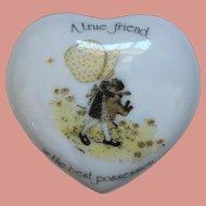 Holly Hobbie Vintage Porcelain Designer Collection Trinket Pot