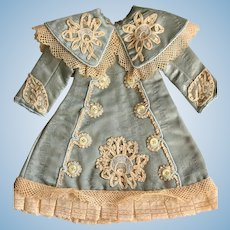 Dolls Costume Dress Silk Moire for 20 inch Doll