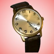 Sekonda Men Watch USSR Soviet Russia Era Hand Wind 17 Jewels 1970 Watch