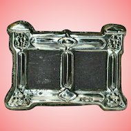 Silver Mounted Double Photo Frame 25 grams by Ray Hall