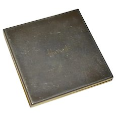 Vintage Harrods Compact Mirror Double Sided