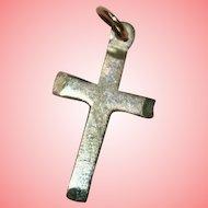 Gold Crucifix Pendant 0.45 grams