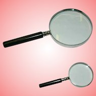 Vintage Set of 2 Magnifier Loupes