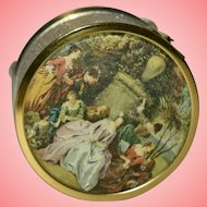 Vintage Musical Trinket Box 1960s Jewelry Box