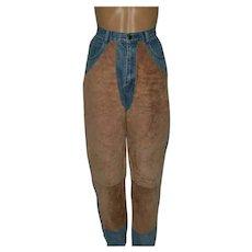 Vintage Western riding jeans by Seruchi Size UK 8 US 6