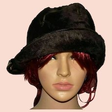 Vintage Cloche Hat by Mitzi Lorenz of London