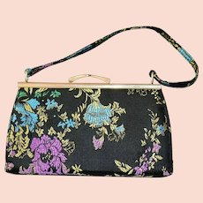 Vintage Embroidered Evening Purse by Atmosphere