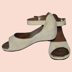 Clarks Leather Hidden Wedge Sandals Size UK 5 US 6