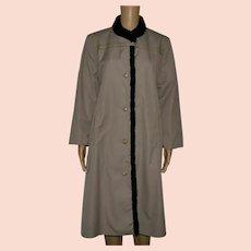 Vintage Brown Mac Coat Size UK 18 US 16