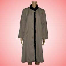 Vintage Brown Mac Coat Size UK 18 US 16