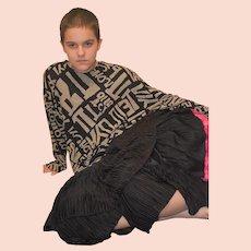 Crepe Skirt Suit by Gila Grunert Ladies Size UK 10 US 8
