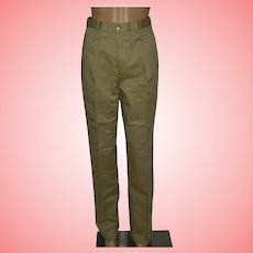 Vintage Pants by Camel Classic High Waist Trousers