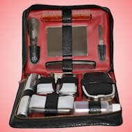 Vintage Gents Grooming Set with Gillette Razor and Blade 13 Pieces