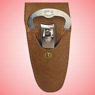 Nail Clipper and Bottle Opener Bates File Co in Pocket Pouch
