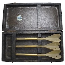 Vintage Boxed Set of Darts by TSL Prov Pat 11163