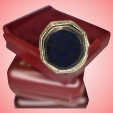 Islamic Lapis Lazuli Signet Ring