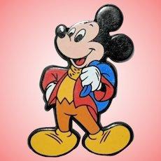 Disney Vintage Mickey Mouse Novelty Cartoons Brooch