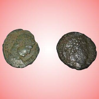 Ancient Roman Constantine Bronze Coins 307-339 AD