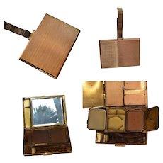 Vintage Art Deco Compact Cigarette Handbag Case