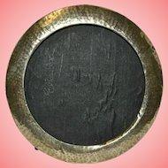 Silver Mounted Circular Photograph Frame 62.43 grams by H. Clifford Davis