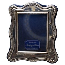 Vintage Silver Bound Picture Frame