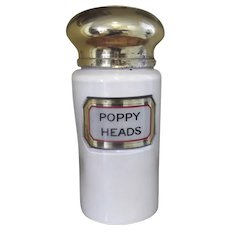 Poppy Heads Container