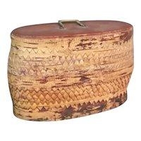 Trinket Box in Birch Bark