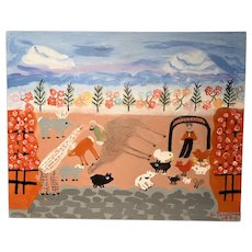 Veronica Terrillion Painting