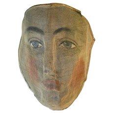 A Regalia Mask from an Odd Fellows Hall in Ontario