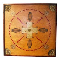 Owl Gameboard Produced by the Carrom Co. of Chicago