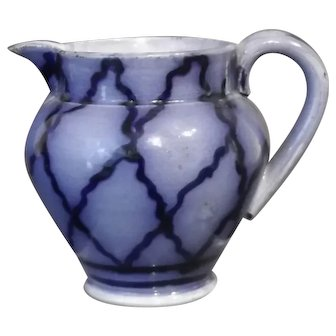 Small Flow Blue Pitcher