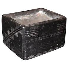 Pueblo Pottery Container by Maria Montoya Martinez