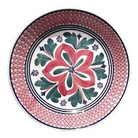 Spatterware and Hand Painted Bowl
