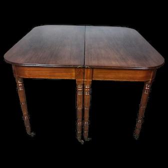19th Century Regency Mahogany Dining Table RESTORED