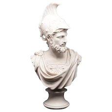 Marble Ajax Bust