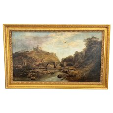 Oil On Canvas Signed John Syer (1815-1885) 19th Century