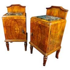 19th Century Art Nouveau Bedside Tables