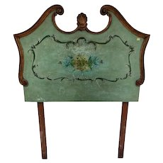 Early 20th Century Wood Venecian Headboard
