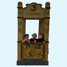 French1900 guignol puppet theater
