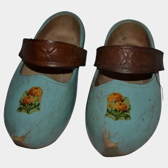 French child clogs 1900