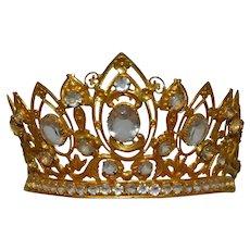 Beautiful virgin mary or madona crown circa1875/1880