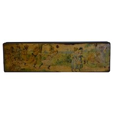 Charming victorian French pencil box