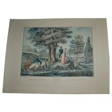 Antique early 19th century engraving