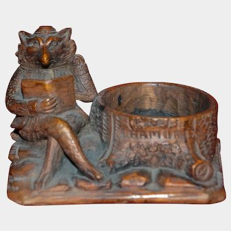 French souvenir carved from Chamonix black forest work